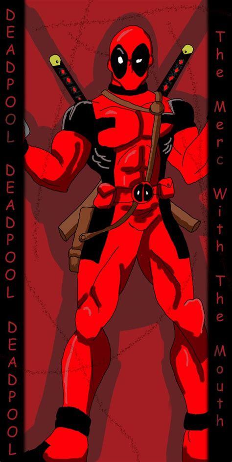 Deadpool  Color By Optimusjimbo On Deviantart