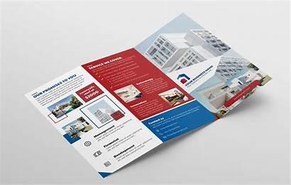 Fold Tri Estate Brochure Template Vol Previews