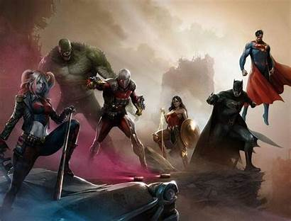 Suicide Squad Justice League Wallpapers Deviantart Comic
