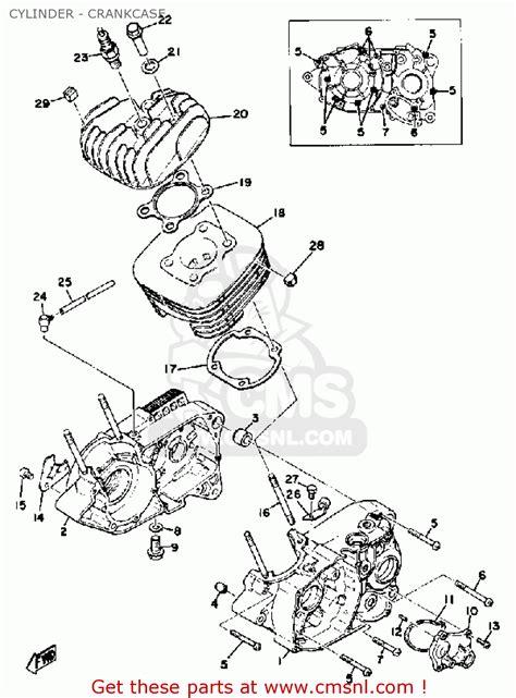 1974 Yamaha Dt250 Parts Diagram