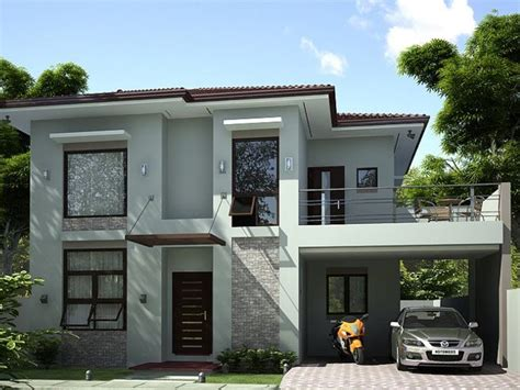 A Simple Modern Home With A Lot Of Personality Is For A And Their by Simple Modern House Design Consideration 7 Home Ideas