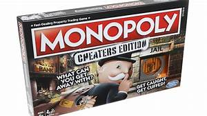 Go Ahead Cheat In Special Edition Monopoly Game