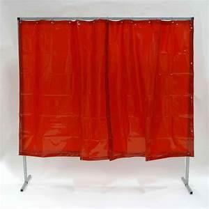 Vorhang 200 Cm Lang : schwei erschutzwand vorhang 0 4 mm rot 200 x 200 cm ~ Orissabook.com Haus und Dekorationen