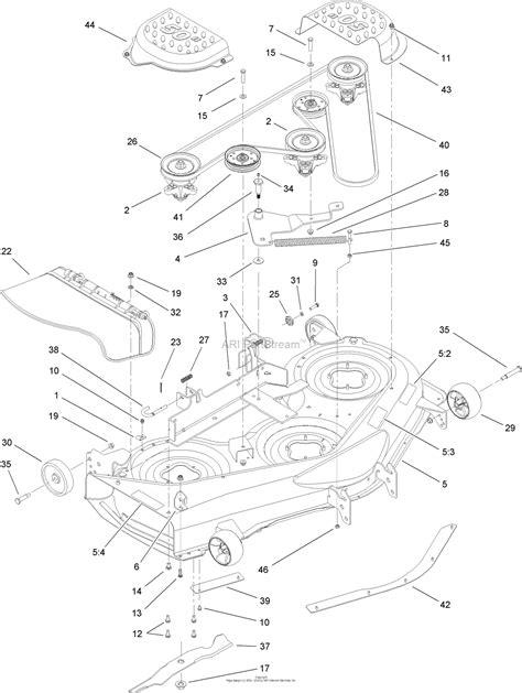 Toro Lx500 Part Diagram toro 13ap60rp544 lx500 lawn tractor 2006 sn 1a056b50000