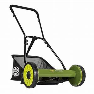 Sun Joe Mj500m Mow Joe 16 U0026quot  Manual Reel Lawn Mower Review
