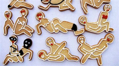 Kama Sutra Gingerbread Cookie Cutters Will Make Grandma
