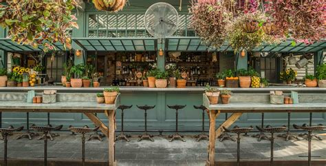 Potting Shed Bar And Restaurant by Kaper Design Restaurant Hospitality Design Inspiration