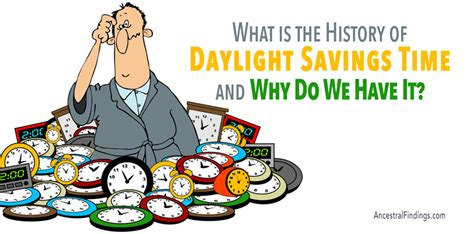 history daylight savings time