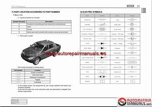 Ssangyong Actyon Sports Q120 2006 09 Service Manuals And Electric Wiring Diagrams