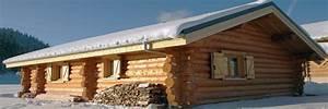 la pessiere lodge et chalet en bois ronds fuste rondin With maison rondin bois prix 10 table de restaurant