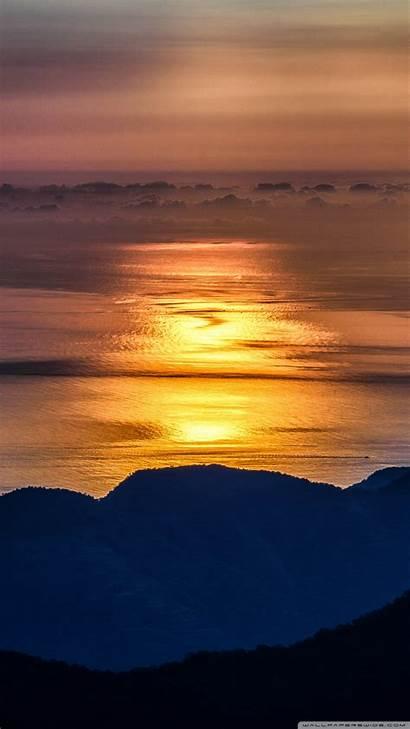 Golden Sunrise Smartphone