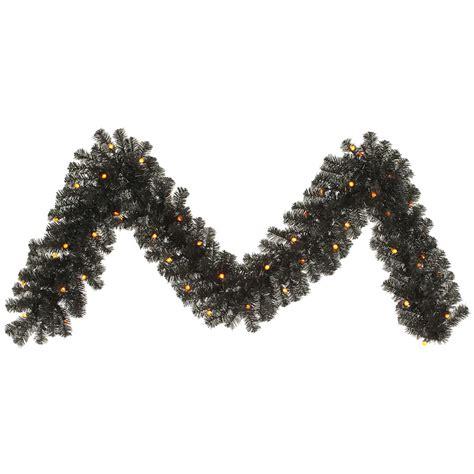 black christmas garland lizardmedia co