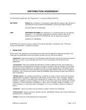 reseller agreement template sample form biztreecom