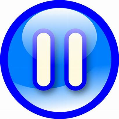 Pause Button Clipart Transparent Background Press Clip