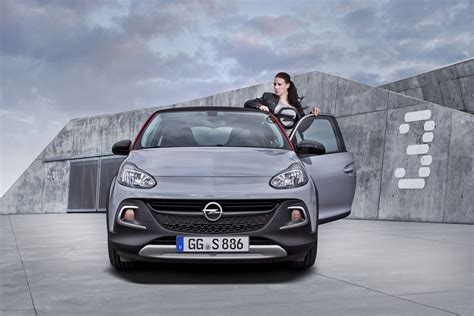 Opel Presented New Mini Crossover Adam Rocks S At The