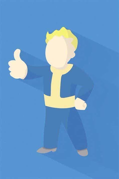 Fallout Animated Wallpaper - fallout 4 minimal wallpaper iphone videojuegos
