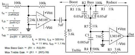 Audio Tone Balance Circuit Page Circuits Next
