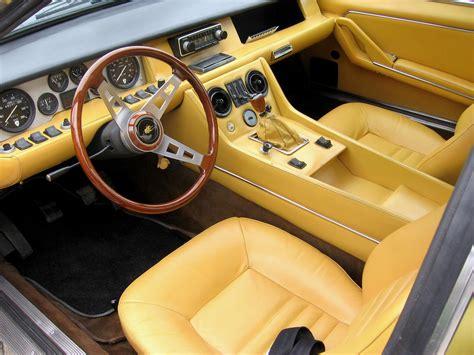 Lamborghini Jarama interior. | Lambo | Pinterest