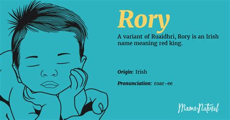 rory  meaning origin popularity boy names  rory