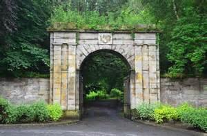 Entrance gateway, Haining House Selkirk © Jim Barton cc-by ...