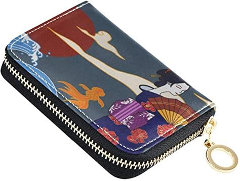 Credit cards currently accepted include visa, mastercard, discover, american express, diners club, and jcb. Credit Card Holder Japanese Style Business Card Organizer Zipper Case Small Leather Wallet for ...