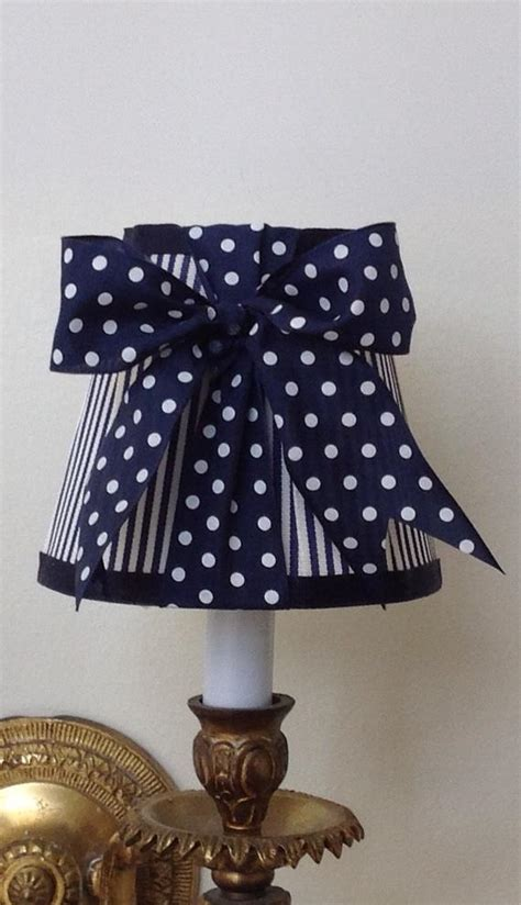 Navy Blue Chandelier Shades by Chandelier L Shade In A New Fresh Navy Blue Stripe And Navy