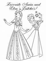 Coloring Patch Eye Printable Anna Frozen Designlooter Elsa Corrective Eyepatch sketch template