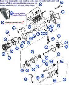 ATV Warn Winch Parts Diagram
