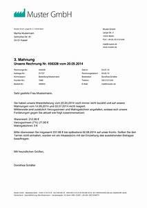 Rechnung Rechtsanwalt Nicht Bezahlen : mahnung muster vorlage zum mahnung schreiben ~ Themetempest.com Abrechnung