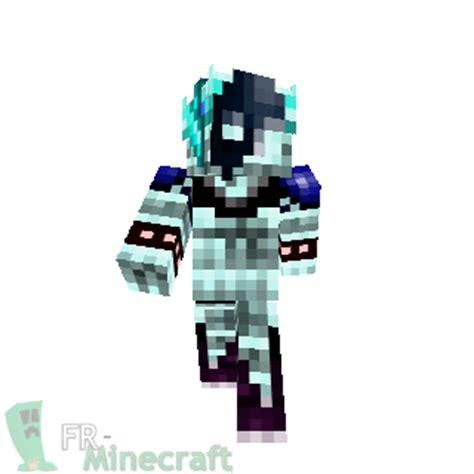 minecraft skin minecraft ange des glaces