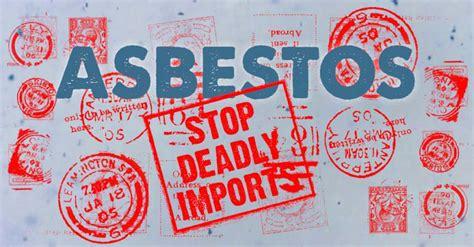 boatloads  illegal asbestos arriving  duttons