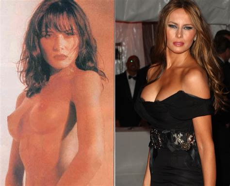 Melania Trump Butts Naked Body Parts Of Celebrities