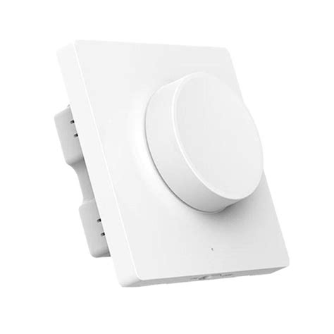 new xiaomi yeelight smart bluetooth dimmer wall light switch remote work with mihome app