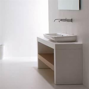 Konsole Für Waschbecken : gsg ceramic design waschbecken serie lilac 105x45cm ~ Markanthonyermac.com Haus und Dekorationen