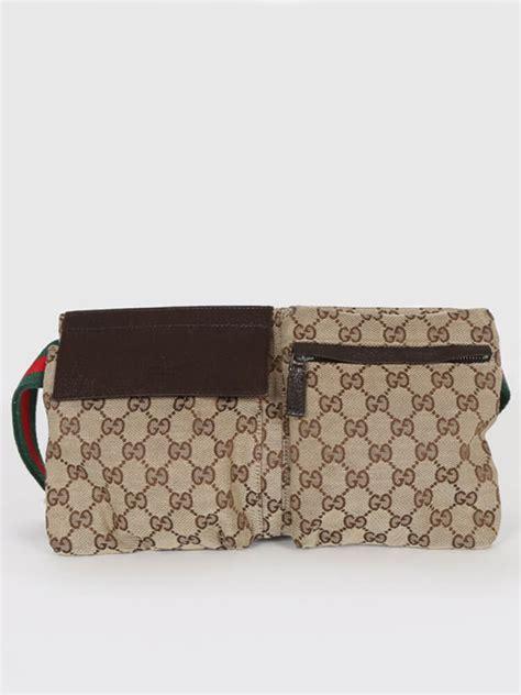 gucci gg canvas bum bag luxury bags