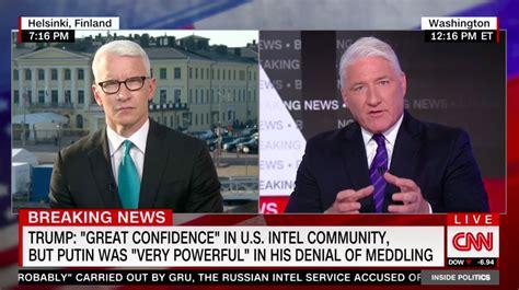 CNN's John King Calls Trump-Putin Meeting 'Surrender Summit'