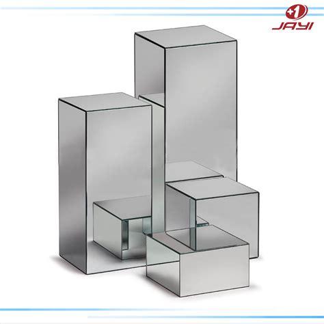mirror pedestal stand custom acrylic mirror pedestal stand for wedding clear