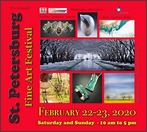 st petersburg fine art festival  outcoast