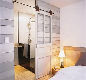 inspiration deco de porte cocon de decoration le blog With faire une porte coulissante avec une ancienne porte