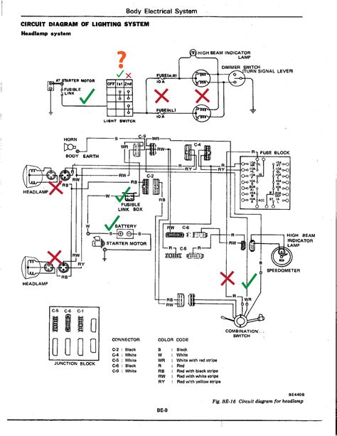 300zx Turn Light Wiring Diagram by Schematics The Daily Datsun