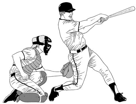 trends  baseball catcher coloring pages sf giants