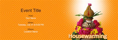 house warming invitation  indias   tool