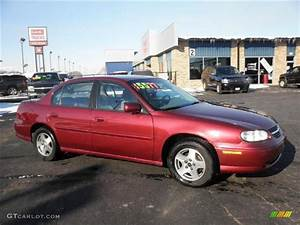 2003 Redfire Metallic Chevrolet Malibu Ls Sedan  45396643