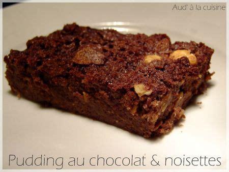 aud a la cuisine pudding chocolat noisettes aud 224 la cuisine