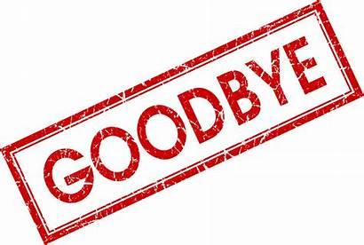 Bye Goodbye Transparent Clipart Background Clip Adieu