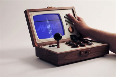 Retro Video Arcade Is Portable And Can Play A Variety Of