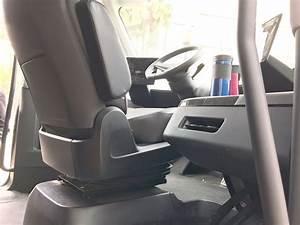 Tesla Semi Truck's rare interior pictures emerge from Sacramento, CA