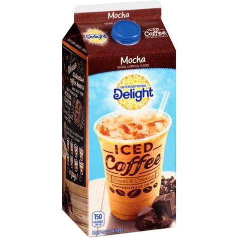 International Delight Mocha Sweet & Creamy Iced Coffee, 0.5 gal   Walmart.com