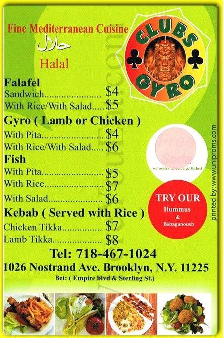 mediterranean cuisine menu clubs gyro halal mediterranean restaurant in prospect