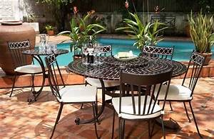 Table Mosaique Jardin : salon de jardin en fer forge et mosaique digpres ~ Teatrodelosmanantiales.com Idées de Décoration